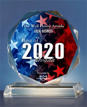 The Well House Receives 2020 Best of Arvada Award